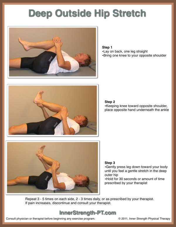 Back and Lower Body Stretches | Inner Strength Physical Therapy